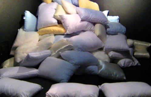 Huge Pile Of Pillows